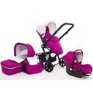 Kinderkraft - Carucior 3 in 1 Kraft 6 Purple