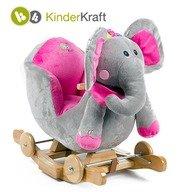 Kinderkraft Balansoar cu roti 2 in 1 Elephant cu sunete