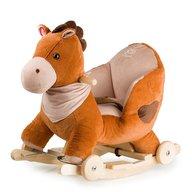 Kinderkraft - Balansoar cu roti 2 in 1 Horse Brown