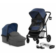 KinderKraft - Carucior 2 in 1 Juli, Blue