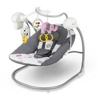 KinderKraft - Leagan portabil 2 in 1 Minky, cu conectare la priza, Pink