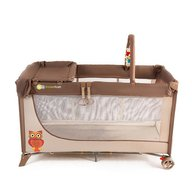 Kinderkraft - Patut pliabil Joy Plus Brown