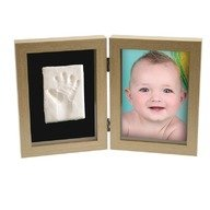Kit Amprenta bebelus 2D 'My First Print of Frame', Kidzzcast, Natur