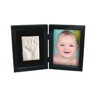 Kit Amprenta bebelus 2D 'My First Print of Frame', Kidzzcast, Negru