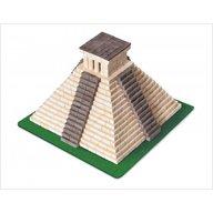 Wise Elk - Kit constructie caramizi Piramida Mayasa, 750 piese reutilizabile