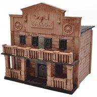 Wise Elk - Kit constructie caramizi Saloon Texan, 270 piese reutilizabile
