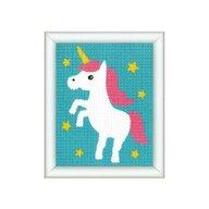 Kits4Kids - Kit creativ coasere in cruce Unicorn,