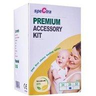 Spectra - Kit premium biberon cu accesorii 28 mm