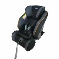 Klippan - Scaun auto Century, 9-25 Kg, Rear-Facing, Black/Orange