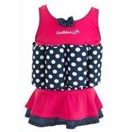 Konfidence - Costum inot copii cu sistem de flotabilitate ajustabil Pink Skirt 2-3 ani