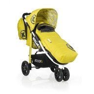 Koochi Carucior sport Pushmatic Primary Yellow