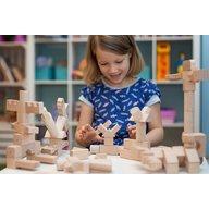 Kooglo - Blocuri magnetice educative 100 piese Natur