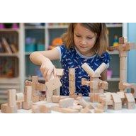 Kooglo - Blocuri magnetice educative 30 piese Natur