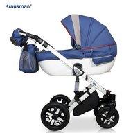 Krausman - Carucior 3 in 1 Jools Eclipse, Blue