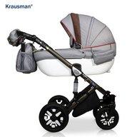 Krausman - Carucior 3 in 1 Jools Eclipse, Grey-Brown