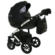Krausman - Carucior 3 in 1 Poema Black ed. limitata
