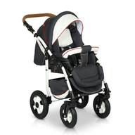 Krausman - Carucior 3 in 1 Ride Dark Grey