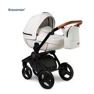 Krausman - Carucior 3 in 1 Topaz Lux White