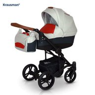 Krausman - Carucior 3 in 1 Tripp, Red