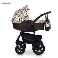 Krausman - Carucior Kraus Clasic, Diamonds Brown