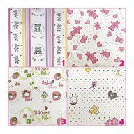 Kreis Design - Scutece multifunctionale 90x90 cm 2/set, Pink