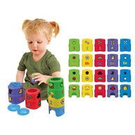 K's Kids Set 9 forme de constructie Smart Stacker