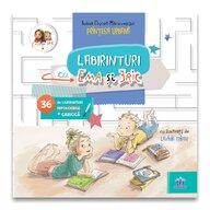 Carte cu activitati Labirinturi cu Ema si Eric