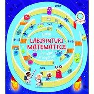 Corint - Labirinturi matematice - Inmultiri si impartiri