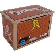Style - Ladita din lemn pentru depozitare jucarii Brown Treasure Chest