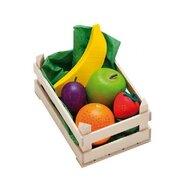 Erzi - Ladita mica cu fructe asortate din lemn,