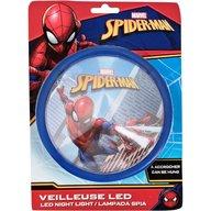 SunCity - Lampa de veghe LED Spiderman, Blue