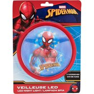 SunCity - Lampa de veghe LED Spiderman, Red