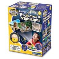 Brainstorm Toys - Lampa de Veghe si Proiector Animale