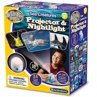 Brainstorm Toys - Lampa de veghe si proiector Animale marine