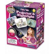 Brainstorm Toys - Lampa de Veghe si Proiector Imagini din Basm