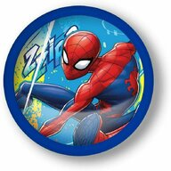 SunCity - Lampa de veghe Spiderman, Multicolor