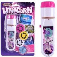 Bambinice - Proiector Lanterna Cu 3 diapozitive Unicorni
