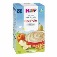 HiPP - Cereale cu lapte si fructe, 250 gr