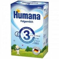 Humana - Lapte de continuare GOS, nr 3, 600 gr, 10 luni+