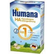 Humana - Lapte praf hipoalergenic, HA 1, 500 gr, 0 luni+