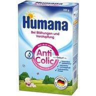 Humana - Lapte praf, AntiColic, 300 g, 0 luni+