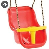 KBT - Leagan Baby Seat Luxe, Rosu/Galben