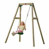 Plum - Leagan din lemn copii Single Swing Set