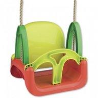 Androni Giocattoli - Leagan din plastic bebelusi si copii pentru exterior 3 in 1, cu spatar