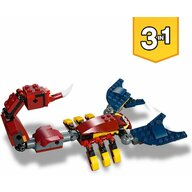 LEGO - Set de constructie Dragon de foc 3 in 1 ® Creator, Multicolor