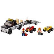 LEGO® Echipa de curse pe ATV
