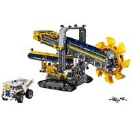 LEGO® Excavator cu roata port cupe