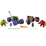 LEGO® Hulk contra Hulk cel Rosu