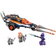LEGO® Motocicleta dubla a lui Lance