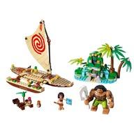LEGO® Vaiana si calatoria ei pe ocean